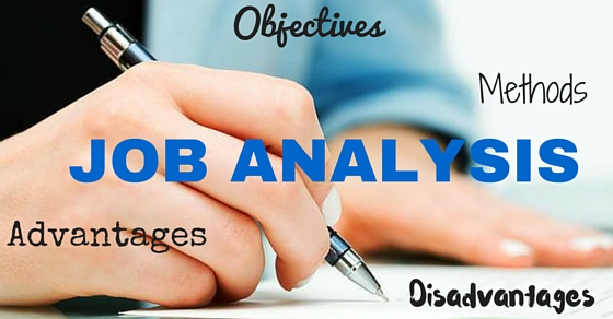 Job Analysis Advantages Disadvantages