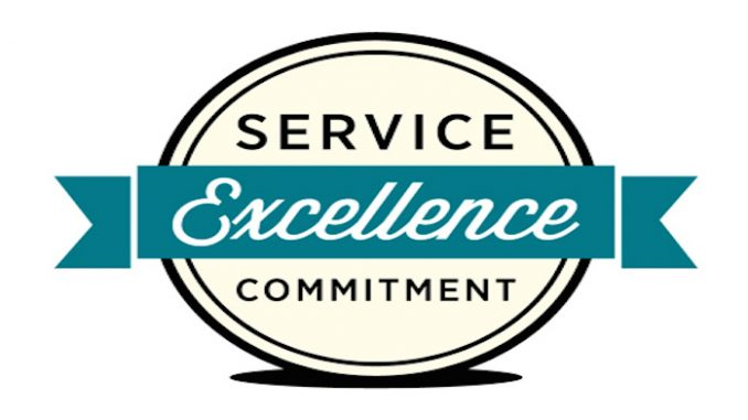 service EXCELLENCE comitment
