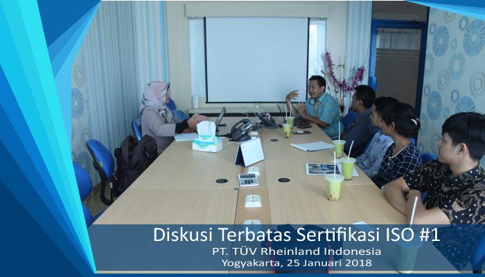 Diskusi Terbatas Sertifikasi ISO #1