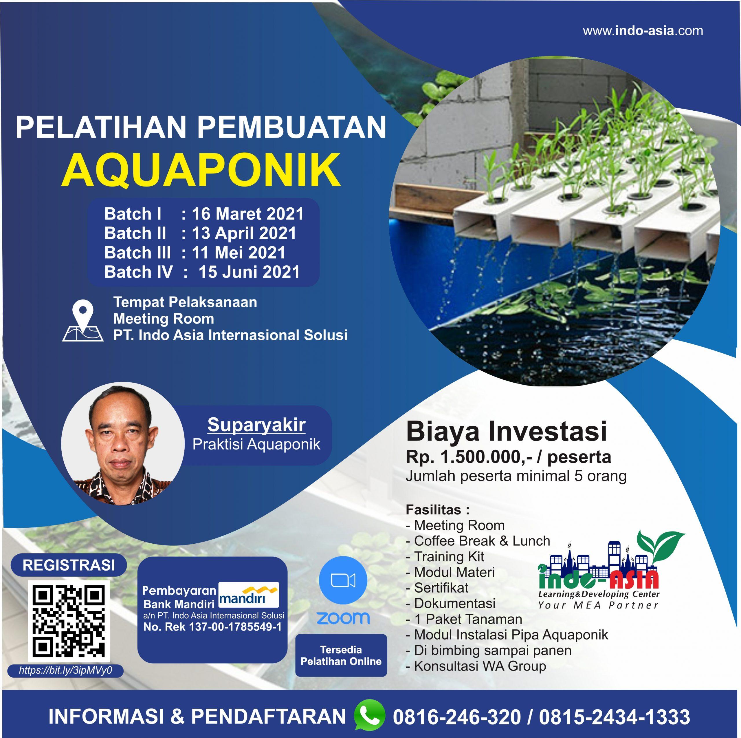 Pelatihan Pembuatan Aquaponik